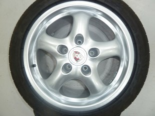 Wheel After Alloy Wheel treatment